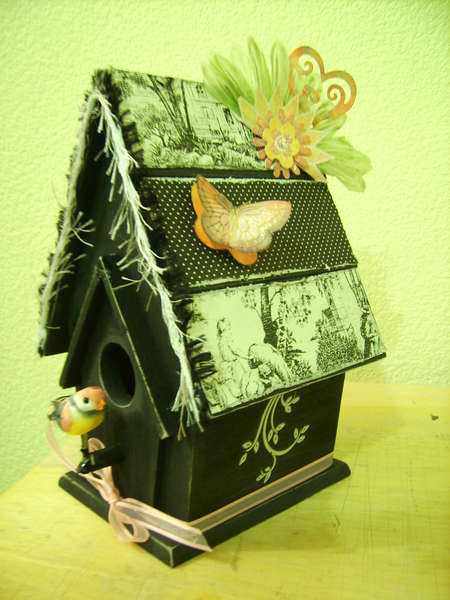 Altered Birdhouse
