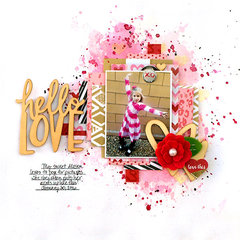 Hello Love - My Creative Scrapbook