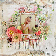 Recital Day - My Creative Scrapbook