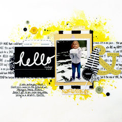 Hello Today - My Creative Scrapbook