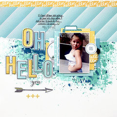 Oh Hello - My Creative Scrapbook