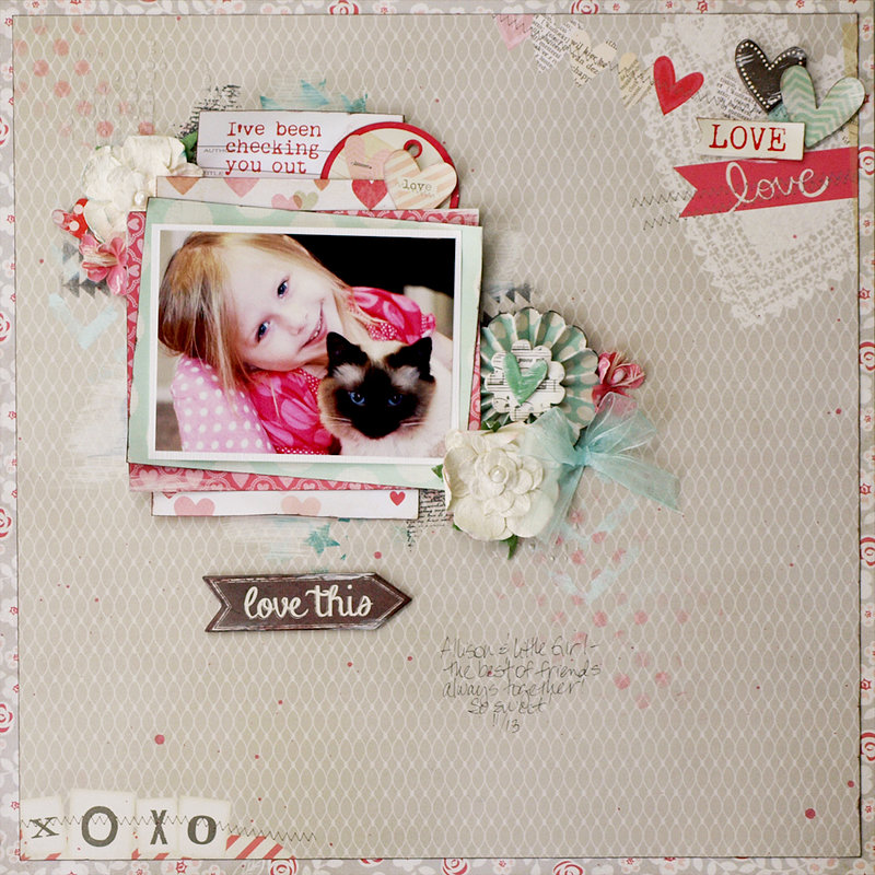 I've Been Checking You Out - My Creative Scrapbook