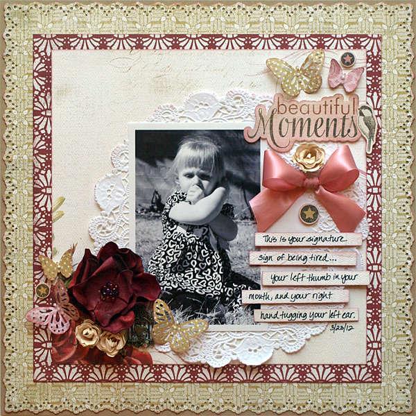 Beautiful Moments - My Creative Scrapbook