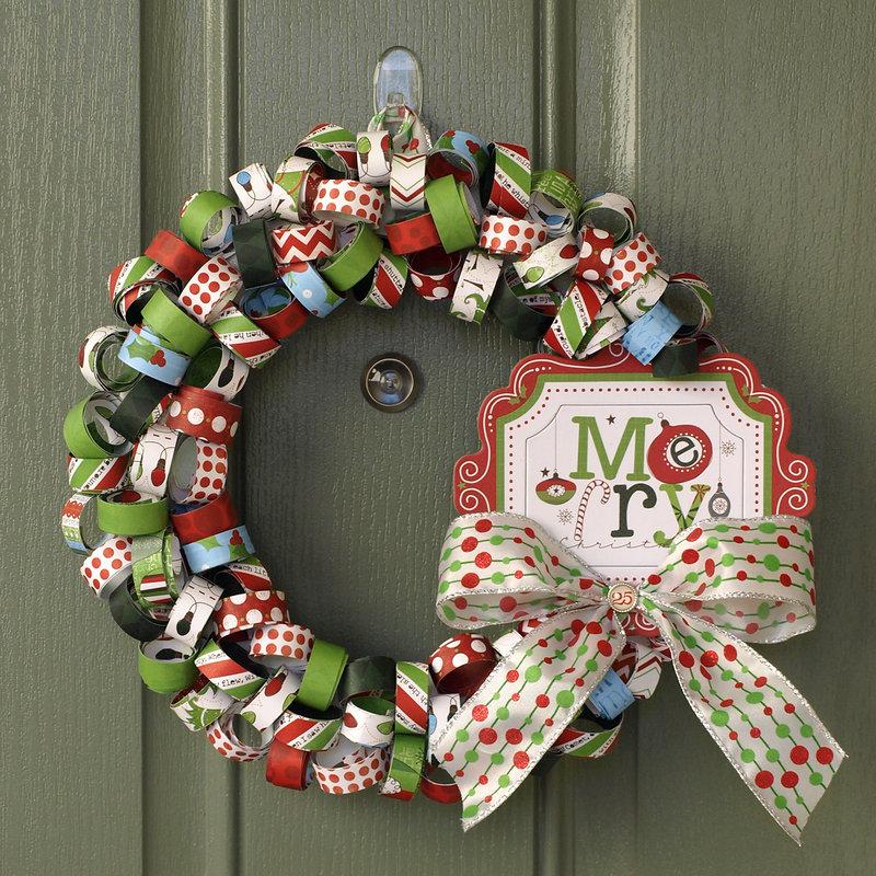 Christmas Wreath - My Creative Scrapbook