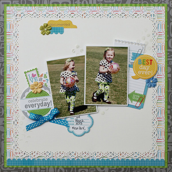 Celebrate Everyday - My Creative Scrapbook