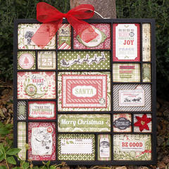 Christmas Altered Tray - My Creative Scrapbook