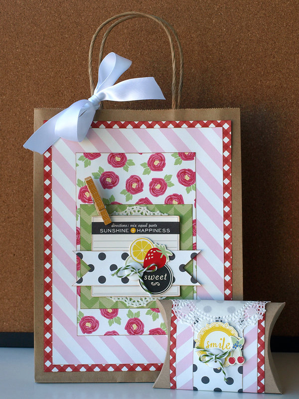Gift Bag and Pillow Box