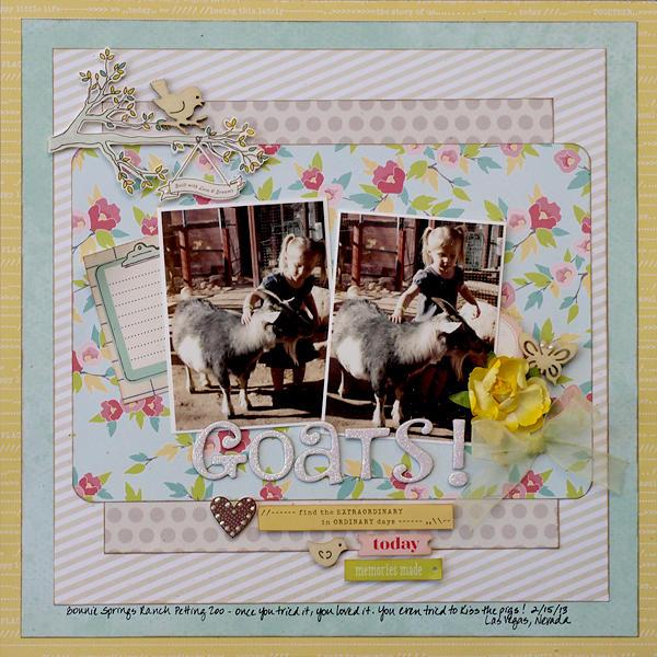 Goats! - My Creative Scrapbook