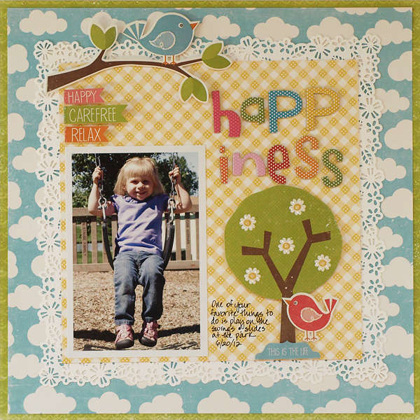 Happiness - My Creative Scrapbook