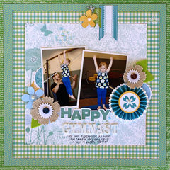 Happy Gymnast - My Creative Scrapbook