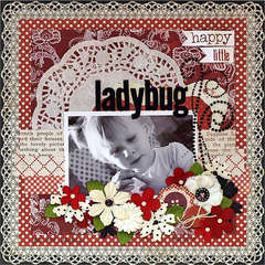 Happy Little Ladybug - My Creative Sketches
