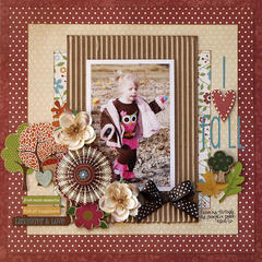 I Love Fall - My Creative Scrapbook