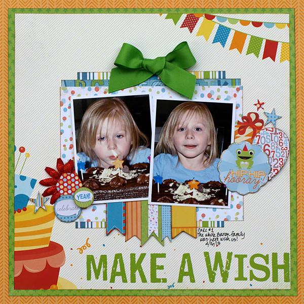 Make a Wish - My Creative Scrapbook