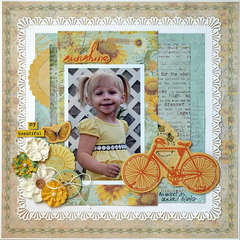 My Beautiful Sunshine - My Creative Scrapbook