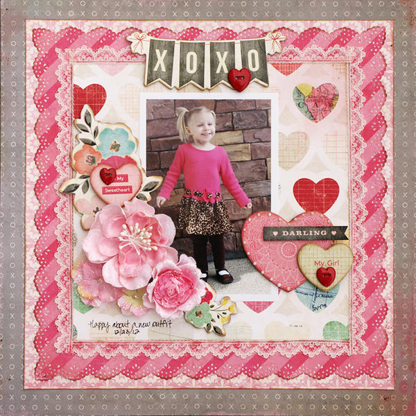 My Sweetheart My Girl - My Creative Scrapbook