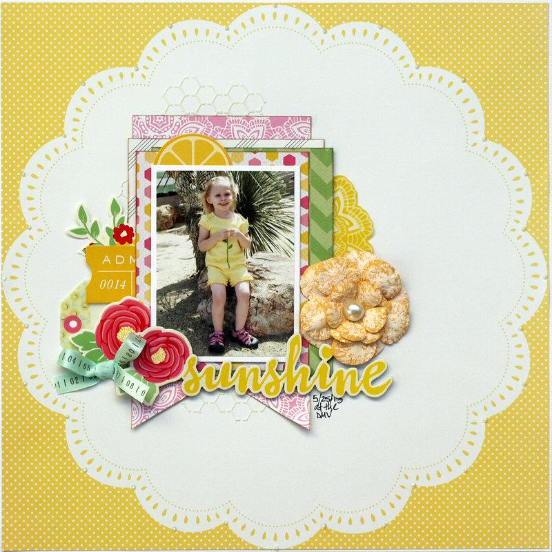 Sunshine - My Creative Scrapbook