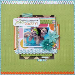 This Place Makes Me So Happy - My Creative Scrapbook