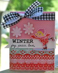 Winter joy.peace.love *My Little Shoebox*