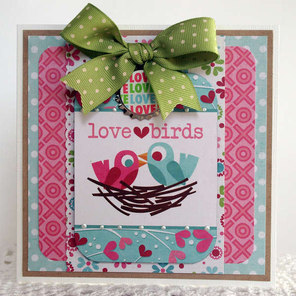 Love Birds - My Creative Scrapbook
