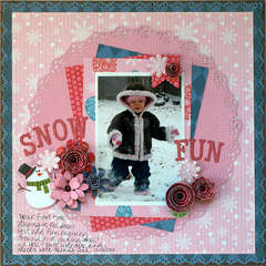 Snow Fun *My Little Shoebox*