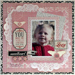 You Make the World a Better Place to Be - My Creative Scrapbook