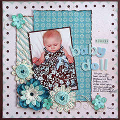 Mommy's Babydoll *Scrapbook Daisies*