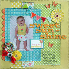Sweet Sunshine *Scrapbook Daisies*