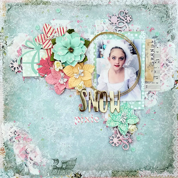Snow Pixie - My Creative Scrapbook