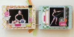 Own the Runway mini album - My Creative Scrapbook