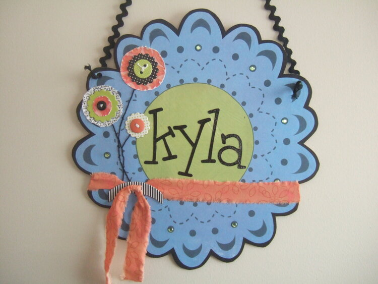 Kyla's door hanging
