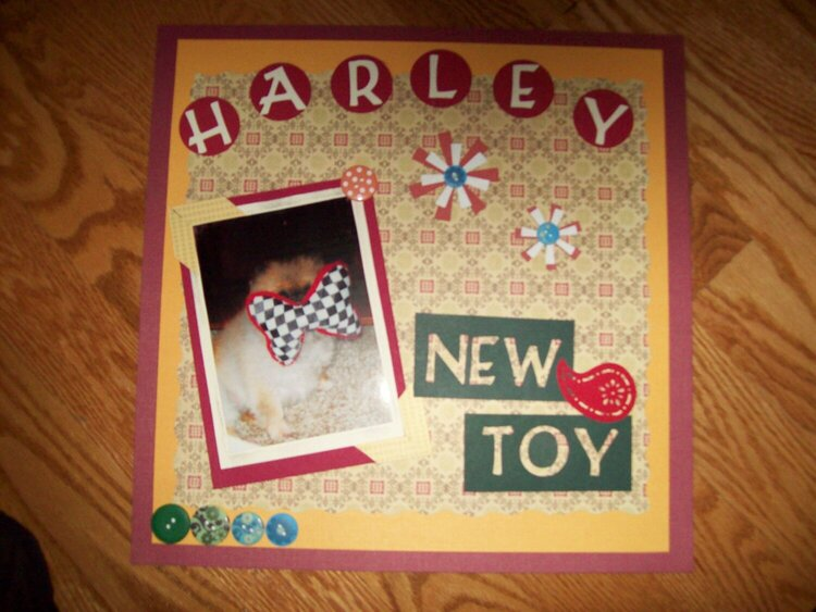 Harley New Toy