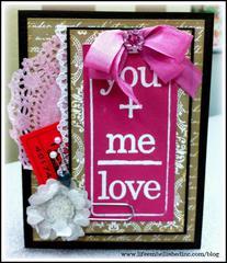 You+Me=Love