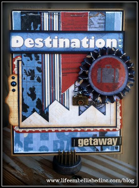 Destination Getaway Card