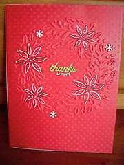 Christmas Thank You B 09