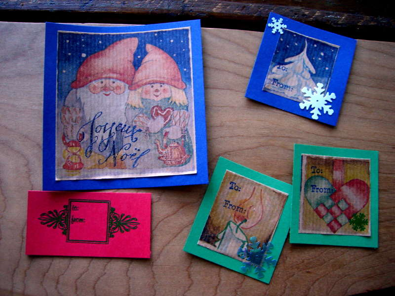 Christmas Gift Tags: Batch One