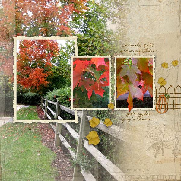 Celebrate Fall Credits – All DesignerDigital  Inking Pumpkins Brushes-Stamps  - Coming Soon Monochromatics Overlays No4 - Coming