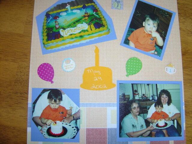 Nicholas' 1st Birthday