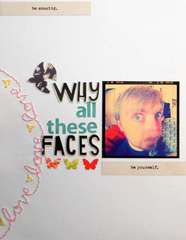 Why all these faces?