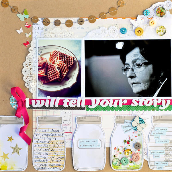 I will tell your story