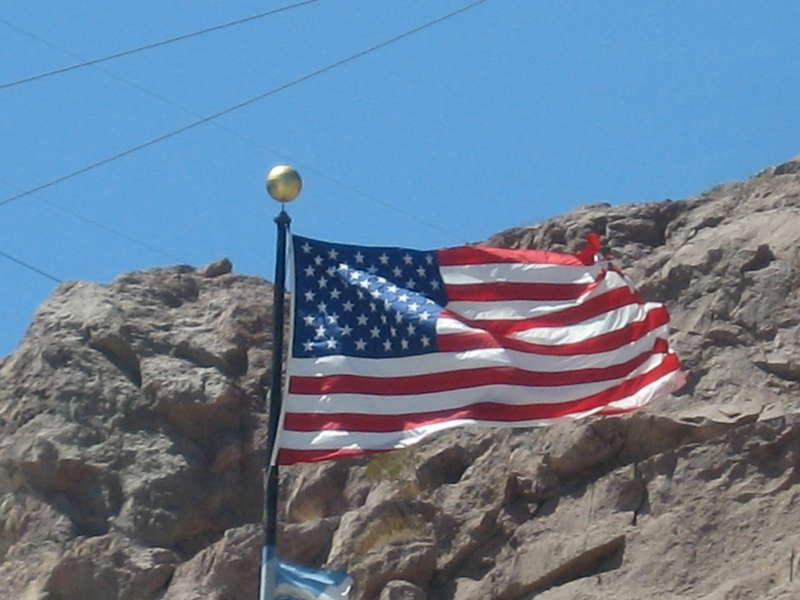 POD 08/26/08 Hoover Dan's flag.