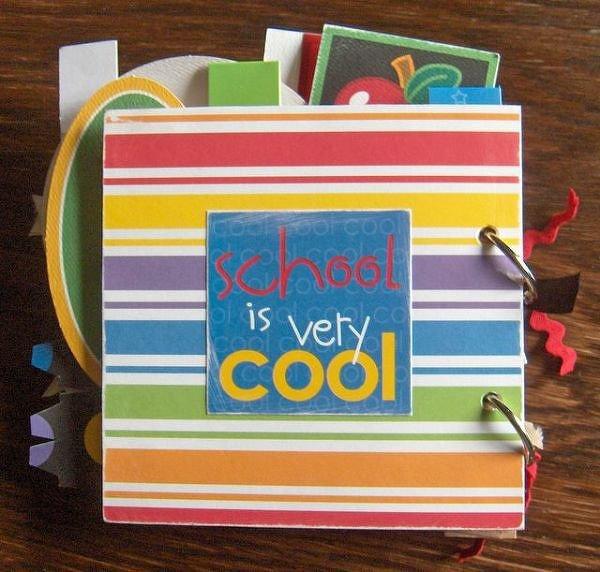 Back-to-school Mini-album (My class at CSC4K Winnipeg)