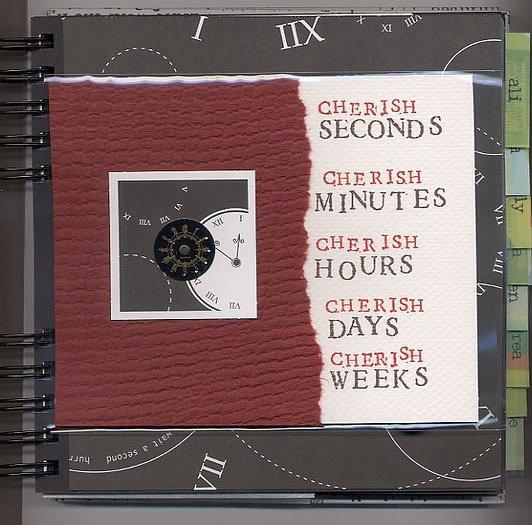 { cherish • circle journal group one }