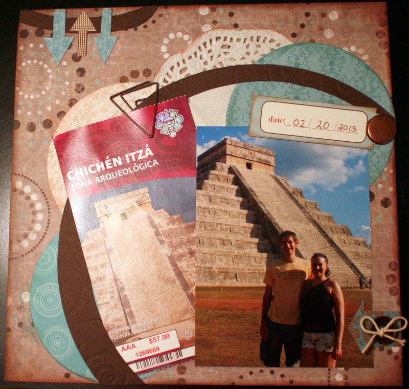 Chichen Itza - Ticket page
