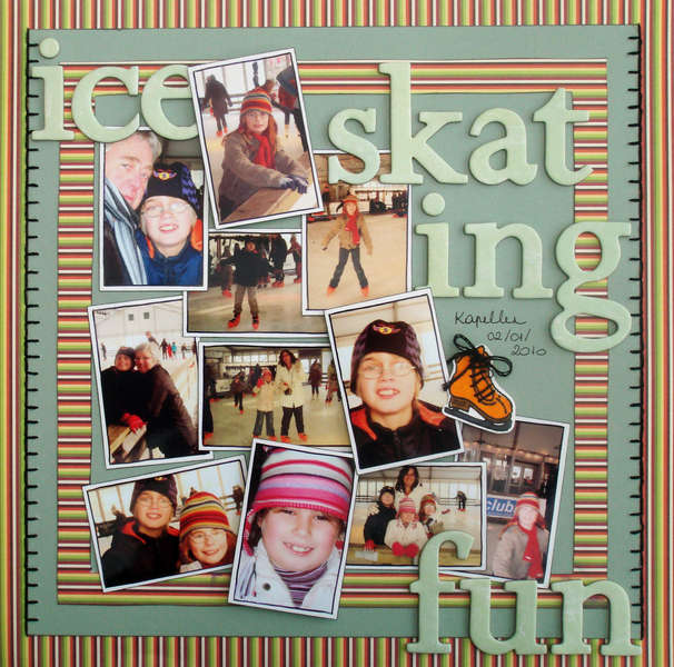Ice Skating Fun - KREATORVILLE KRAFTS