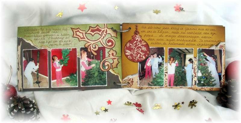 Winter 2009 mini-album pages 1 and 2 - KREATORVILLE KRAFT