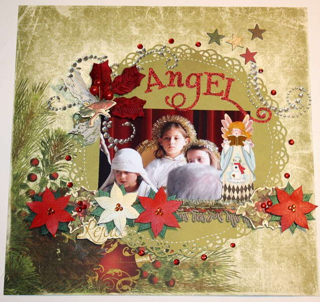 Angel **MY CREATIVE SCRAPBOOK DEC.KIT**