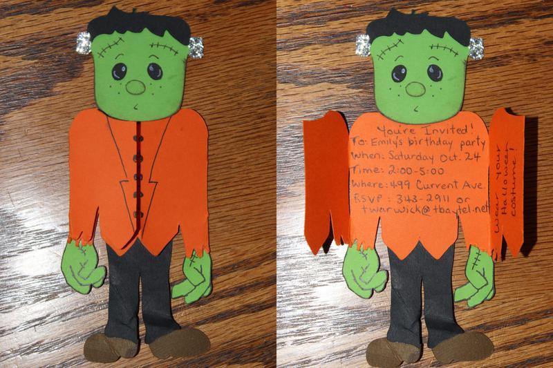 Frankenstein card