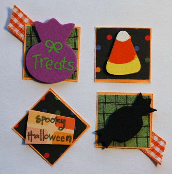 Anything Goes Inchie Swap - spooky halloween
