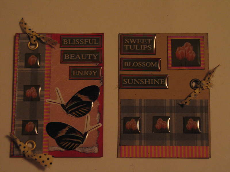 Anything goes ATC swap - Tulips