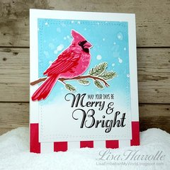 Merry & Bright Cardinal